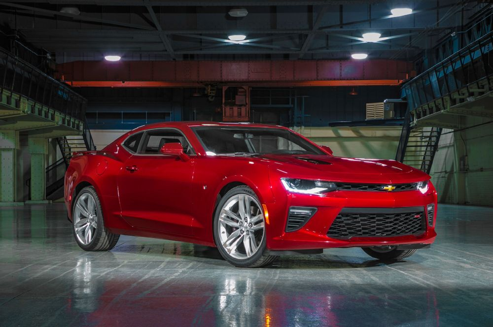 New Chevrolet Camaro - quick as thought