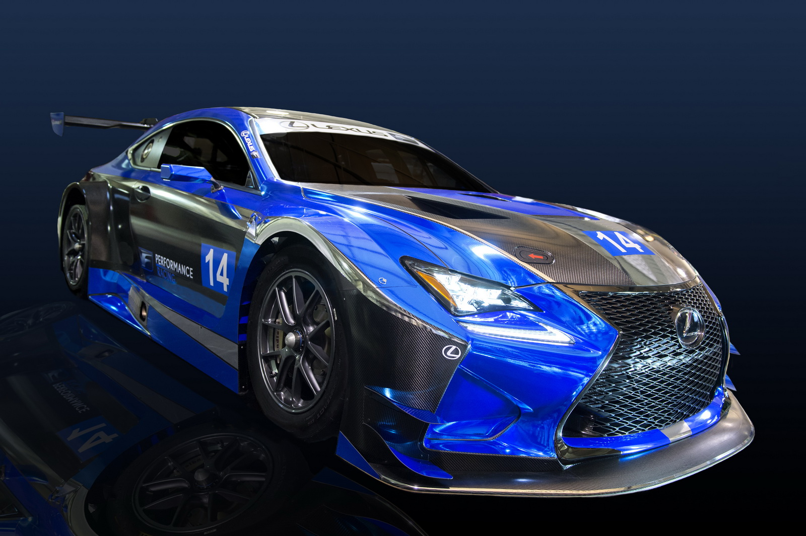 The new RC F GT3 aims to strengthen the Lexus' F brand