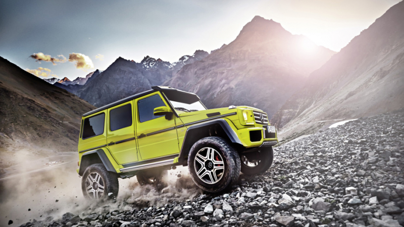 Mercedes-Benz G500 4x4 Squared discontinues production