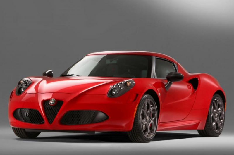 An eye-catching design exercise over the Alfa Romeo 4C at the Dubai International Motor Show 2015