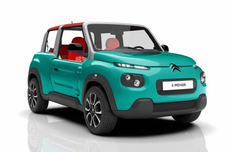 Citroën E-Mehari is the newest all-electric small SUV with funky looks