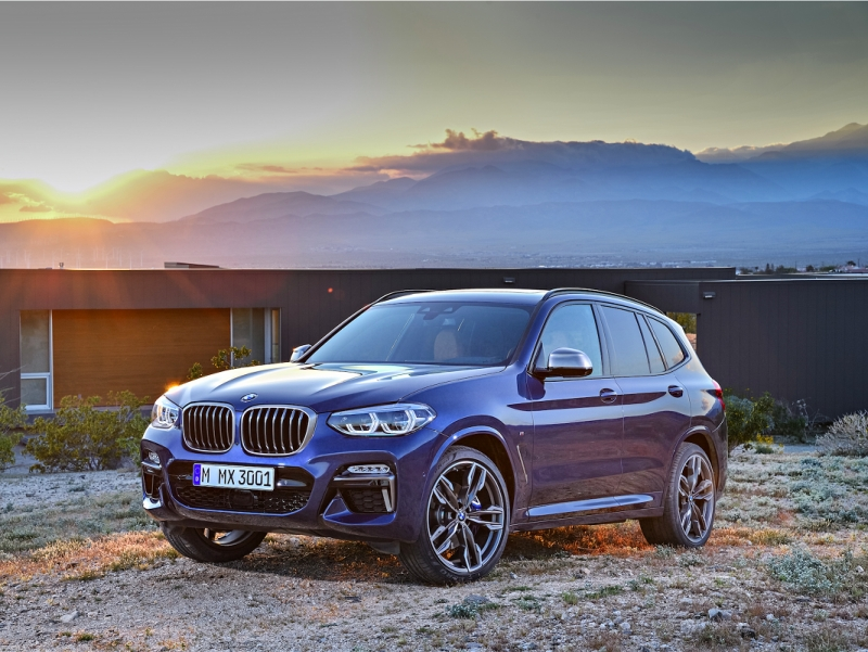 2018 BMW X3: American-built German SUV