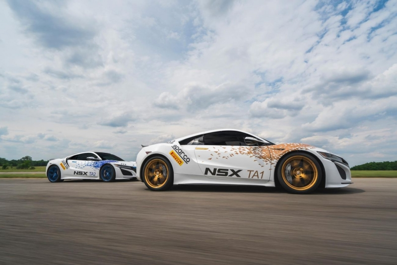 Acura NSX gets first place at Pikes Peak