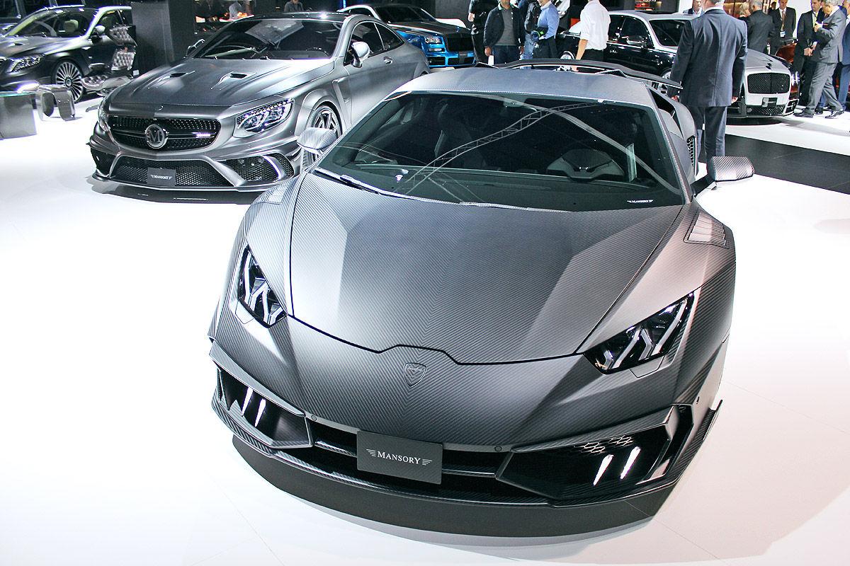 Lamborghini Huracán best model of Mansory