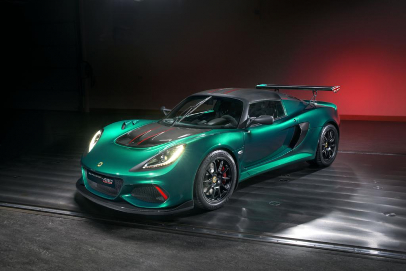 2018 Lotus Exige Cup 430 gives a whole new meaning to EXTREME